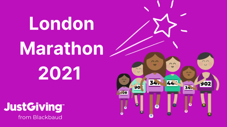 London Marathon 2021 Banner