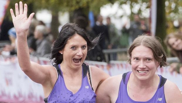 Runners - Royal Parks Half Marathon 2014