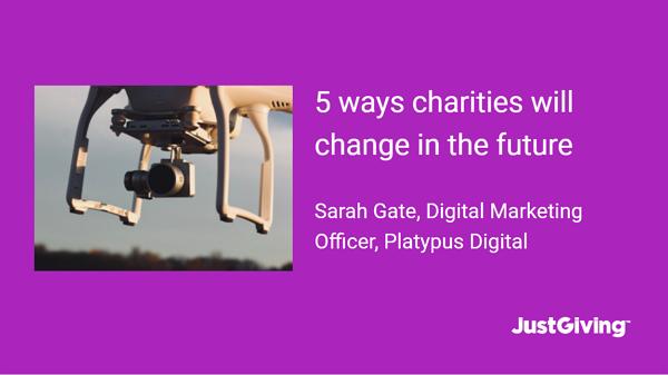 5 Ways Charities Will Change