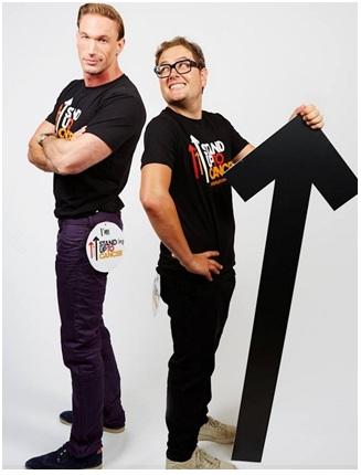 Alan Carr and Dr Christian Jessen