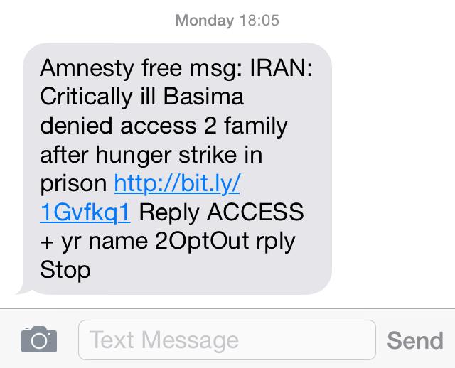 Amnesty Pocket Protest