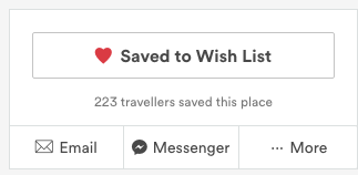 Example of AirBnB using Scarcity principles
