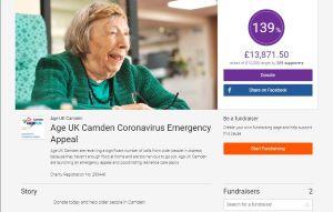 Age UK COVID-19 appeal