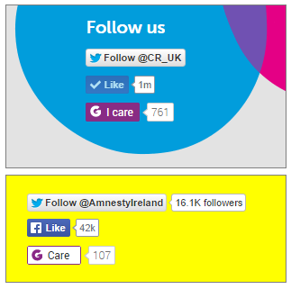 Care Cancer Research UK and Amnesty International Ireland