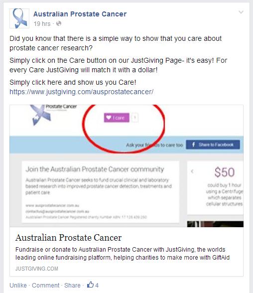 Care Challenge - Australian Prostate Cancer Screenshot