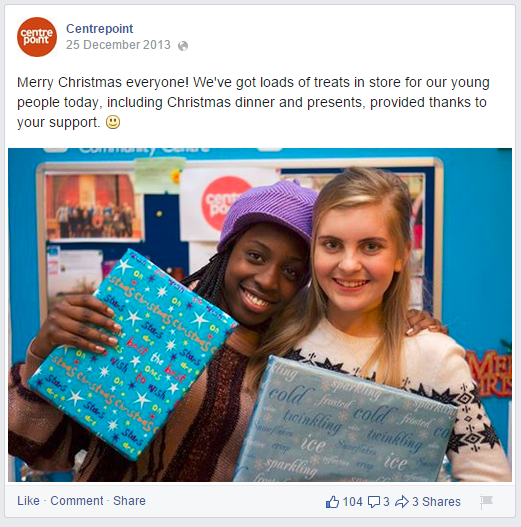 Centrepoint christmas post