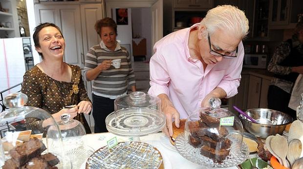 Community Fundraising Cake Sale