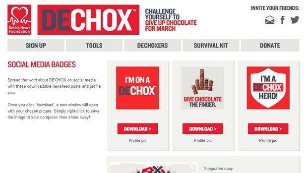 Dechox Social Media Bades Page