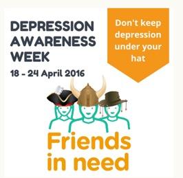 Depression Awareness Week poster