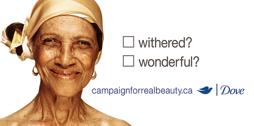 Dove 'Campaign for real beauty' image
