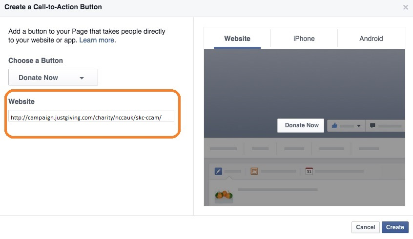 FB call to action 2