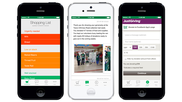 Foodbank app