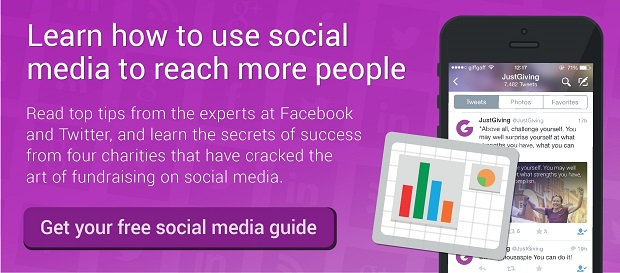Get your free guide to fundraising on social media