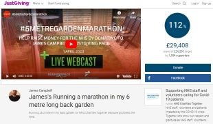 Livestream Garden Marathon