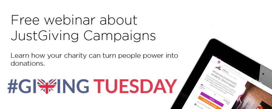 GivingTuesday Campaigns Webinar
