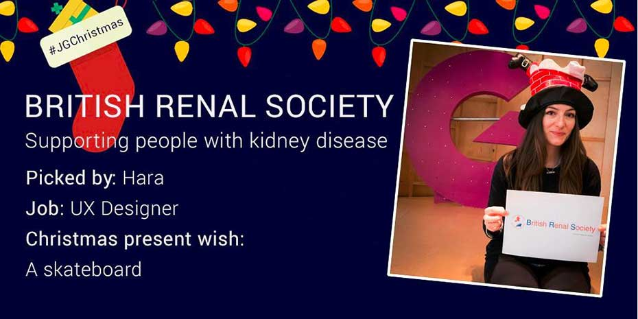 Social post for British Renal Society