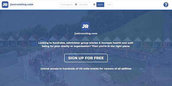 Justrunning_homepage
