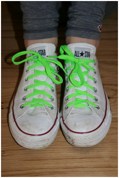 Lime Green Laces campaign by Haller