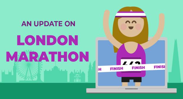 London Marathon Update Blog