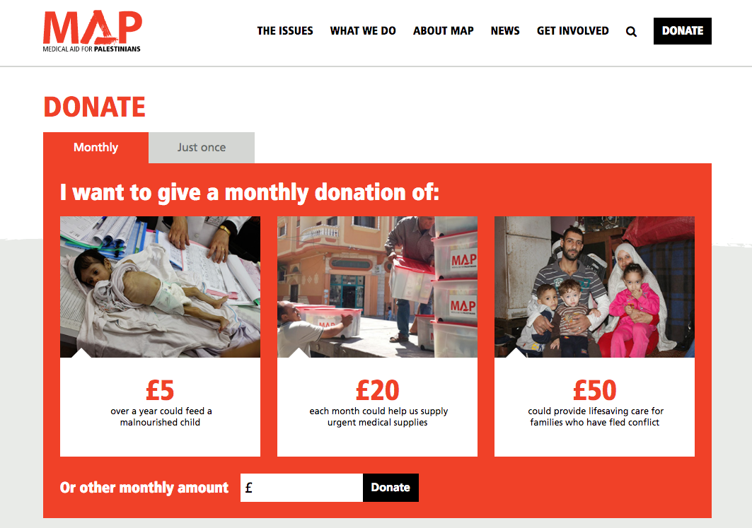 map-donation-page