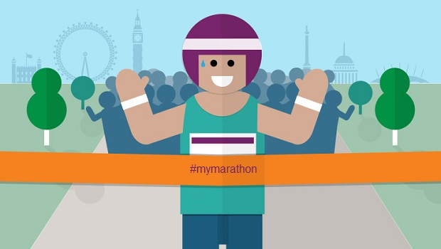 London marathon fundraising