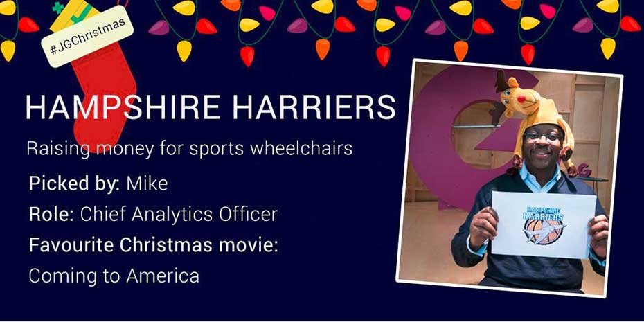 Social post for Hampshire Harriers