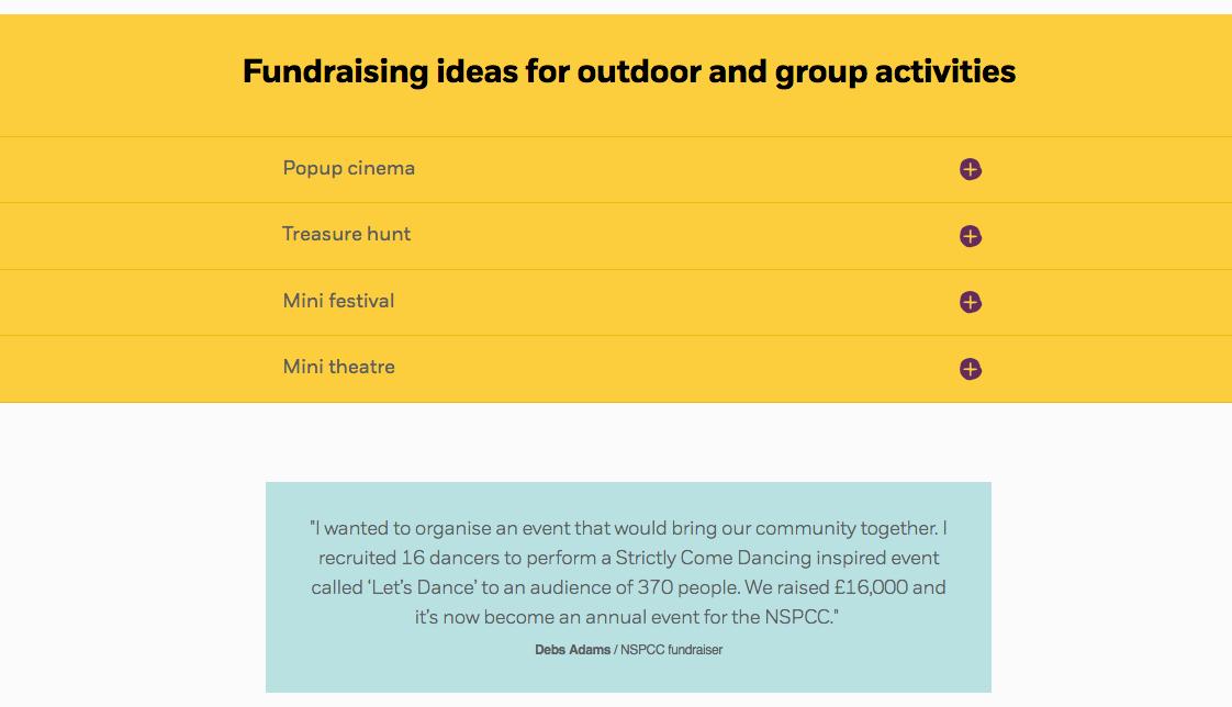 Seasonal fundraising and social proof