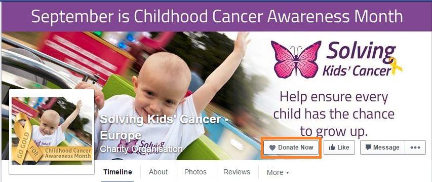 Neuroblastoma Donate Now
