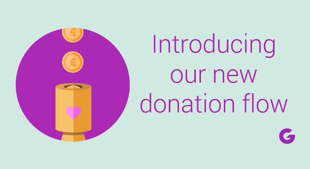 New JG Donation Flow