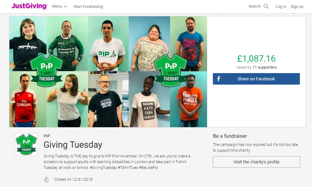 GivingTuesday Campaign Page