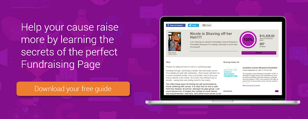 Perfect fundraising page guide