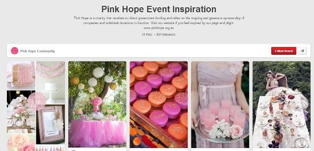 Pink Hope Australia Pinteres