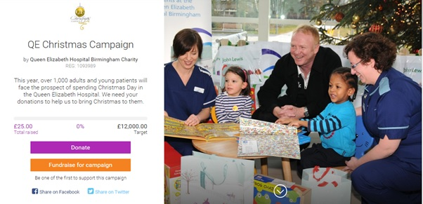 QE Christmas Appeal