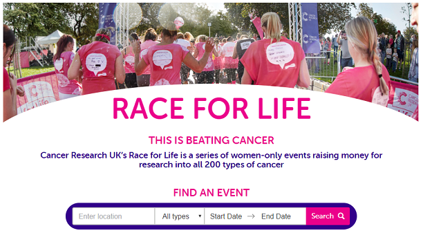 Race For Life Feature