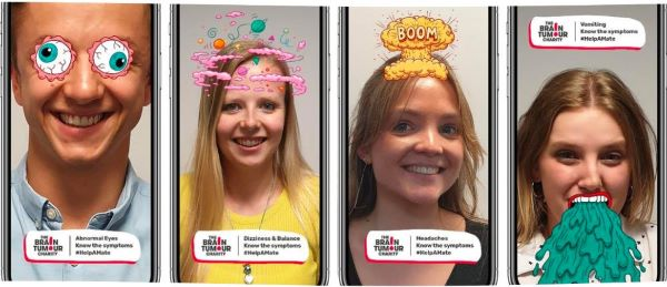 The Brain Tumour Charity Snapchat