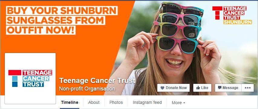 Teenage Cancer Trust FB