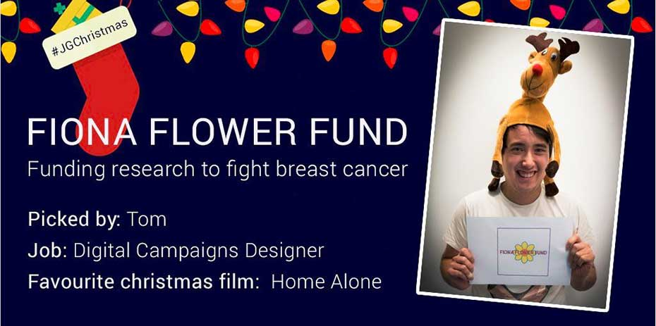 Social post for Fiona Flower Fund