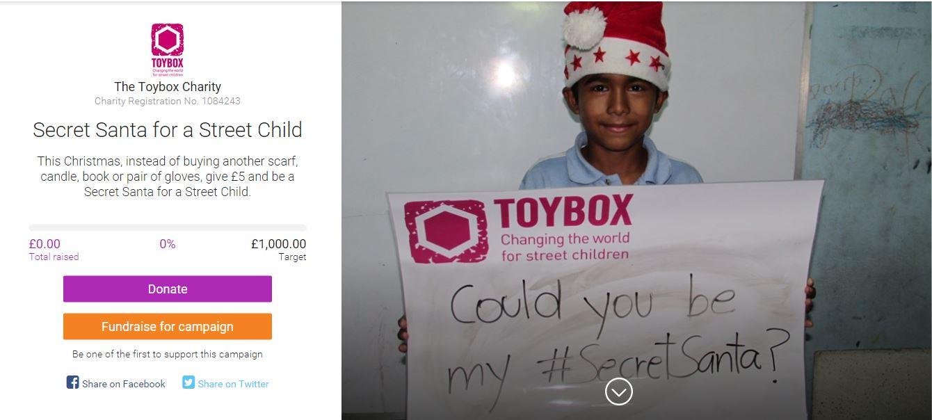 ToyBox Secret Santa