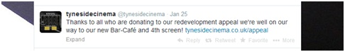 Tyneside Cinema on Twitter