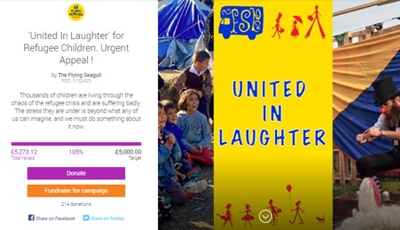 United in Laughter Campaign Page