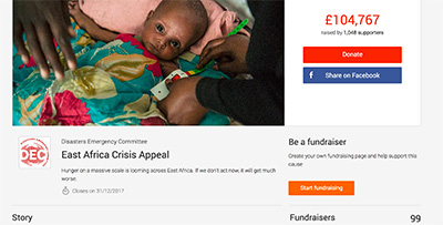 The DEC's East Africa Crisis Appeal Campaign