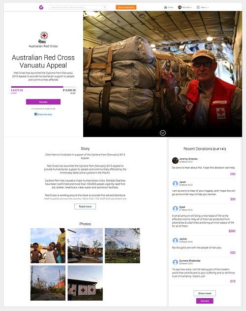 Australian Red Cross Vanuatu Appeal