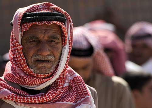 A group of muslim men