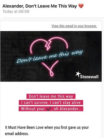 stonewall valentines