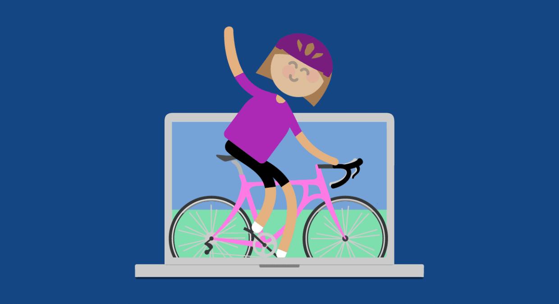 virtual bike ride